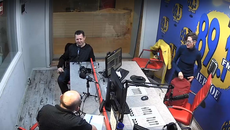 Интервью с Марком Кричевским на 89.1 FM